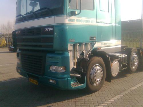 Wim Brouwer bij A30 truckservice